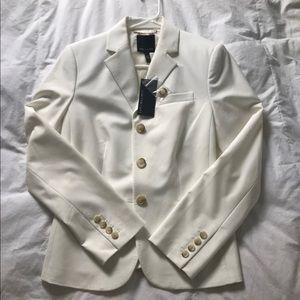 The Limited White Blazer